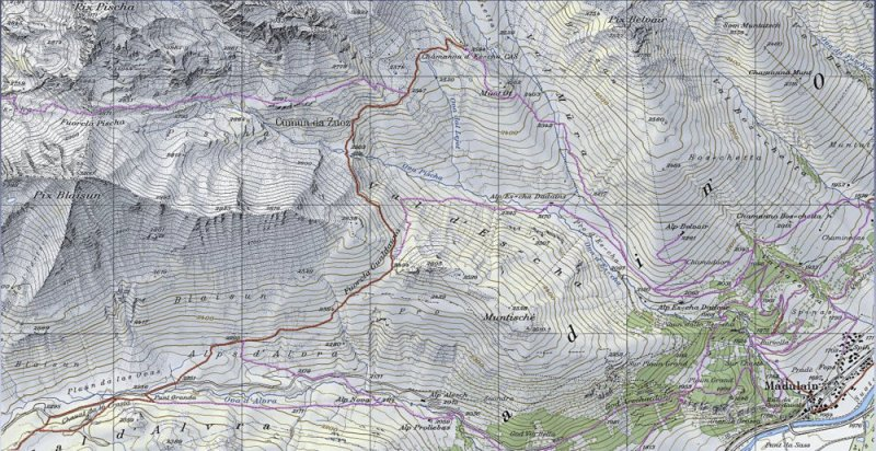 Karte-Albula