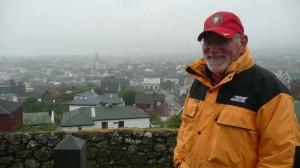 Törshavn im Regen
