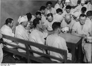 Suppenküche 1932 in Berlin