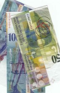 Geld Fr. 50.- bis 100.-