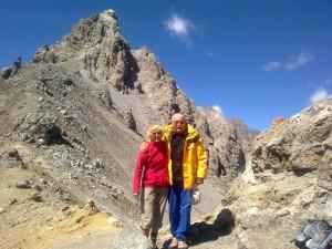 Heidy und Armin - Fourcla Val dal Botsch (2687 müM)
