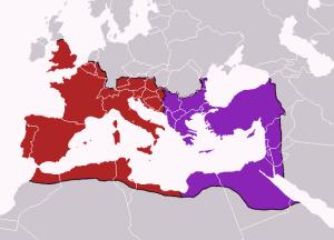 Römisches Reich um