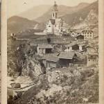 Tiefencastel - vor der Dorfbrand 1890
