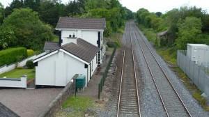 Bahnhof von Blarney geschlossen