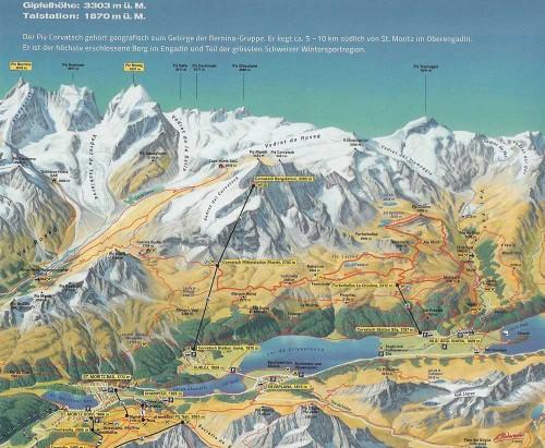 Piz-Corvatsch-Karte