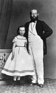 Alfred und Tochter Lydia