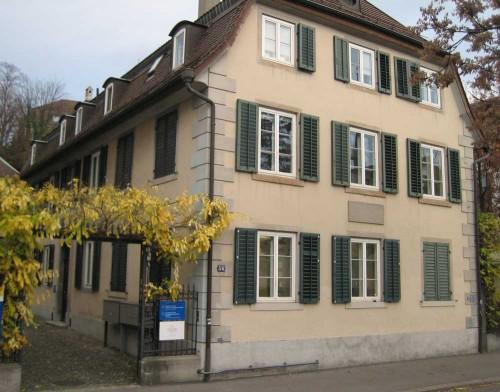 Geburtshaus Alfred Escher in Zürich
