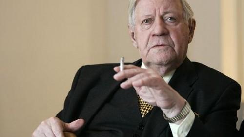 Helmut Schmidt - 95-jährig