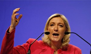 Marine Le Pen, leader of France's Front National
