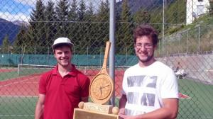 Sieger Adrian Schorte und Marino Denoth