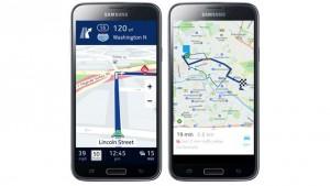 Kartenmatrerial Nokia HERE