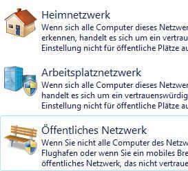 Win7-netzwerkstandort