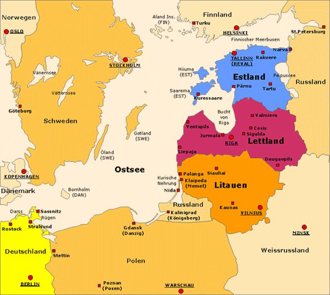 Die Deutsch-Baltische Handelskammer in Estland, Lettland, Litauen